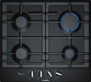 Газовая варочная панель Bosch PCP6A6B95R черный