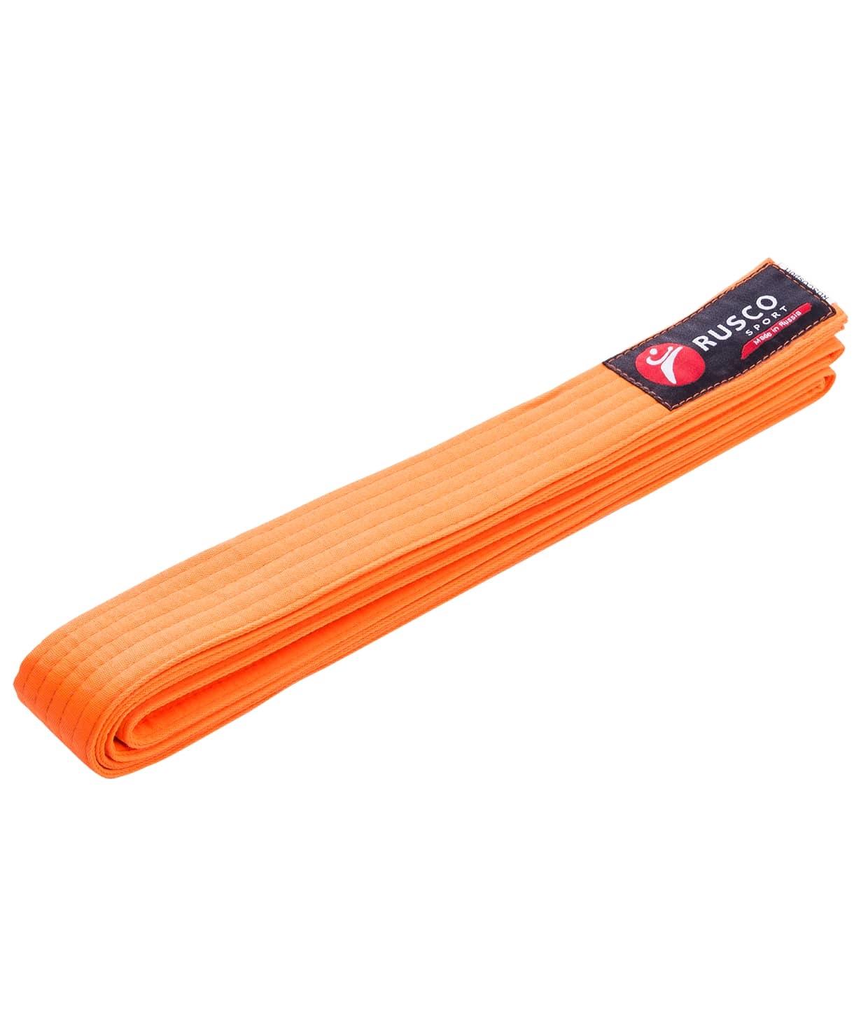 Пояс для единоборств, 240 см, оранжевый