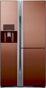 Холодильник Hitachi R-M 702 GPU2X MBW коричневый