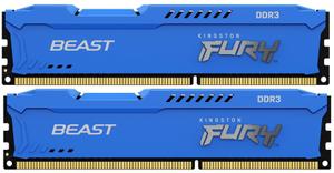 Оперативная память Kingston FURY Beast [KF316C10BK2/8] 8 Гб DDR3