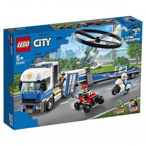 Конструктор lego city полицейский вертолётный транспорт 60244