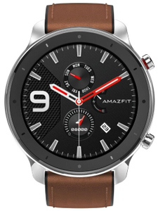 Смарт-часы Xiaomi Amazfit GTR 47мм серебристый