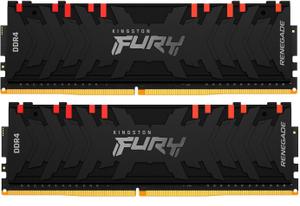 Оперативная память Kingston FURY Renegade RGB [KF430C15RBAK2/16] 16 Гб DDR4
