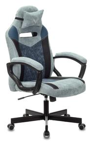 Кресло игровое Бюрократ Zombie VIKING 6 KNIGHT Fabric синий