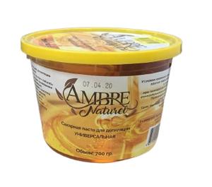 Сахарная паста для депиляции 700гр Ambre Naturel