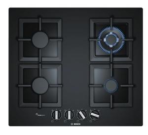 Газовая варочная панель Bosch PPH6A6B20R черный
