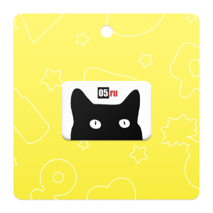 Black Cat стикер