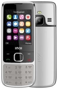 Сотовый телефон INOI 243 серебристый