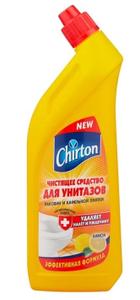 Гель для чистки туалета Лимон 750мл Chirton