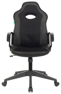 Кресло игровое Бюрократ Zombie VIKING-11 черный