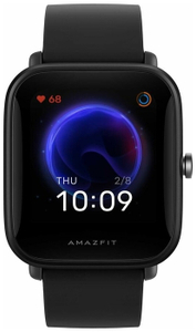 """Смарт-часы Amazfit Bip U Pro A2008 1.43"""" IPS черный, ограниченная гарантия"""
