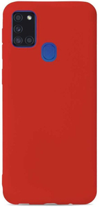 Клип-кейс Gresso коллекция Меридиан (для Samsung Galaxy A21S (2020) красный