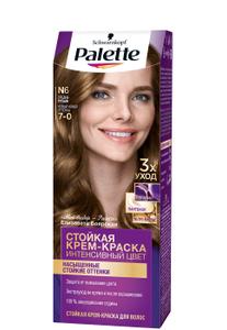 Краска для волос№6 (7-0) Средне-русый Palette