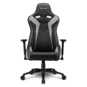 Кресло игровое Sharkoon Elbrus 3 серый