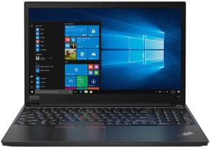 Ноутбук Lenovo ThinkPad E15 (20RD0020RT) черный