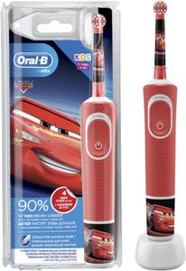 Зубная щетка электрическая Oral-B Kids Cars красный/белый