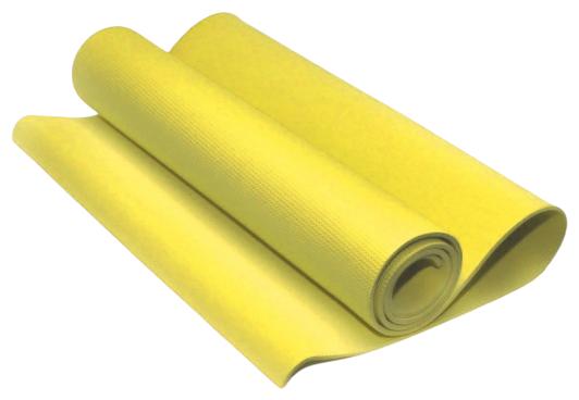 Коврик гимнастический. КВ6106 (Жёлтый)