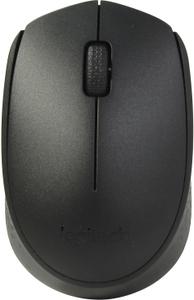 Мышь беспроводная Logitech B170 черный