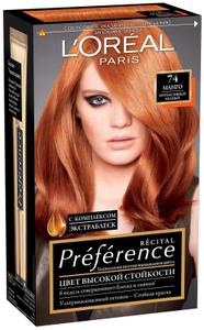 Краска для волос Preference 74 Манго L'Oreal Paris