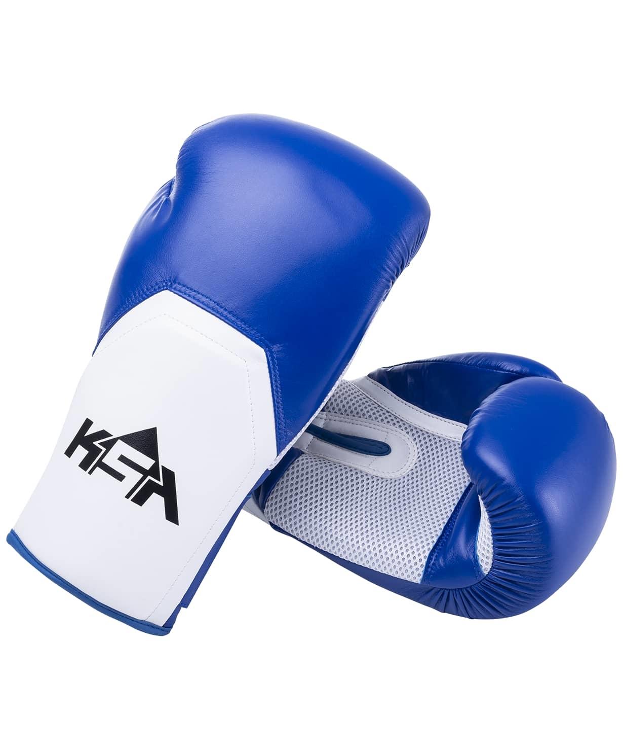 Перчатки боксерские Scorpio Blue, к/з, 12 oz