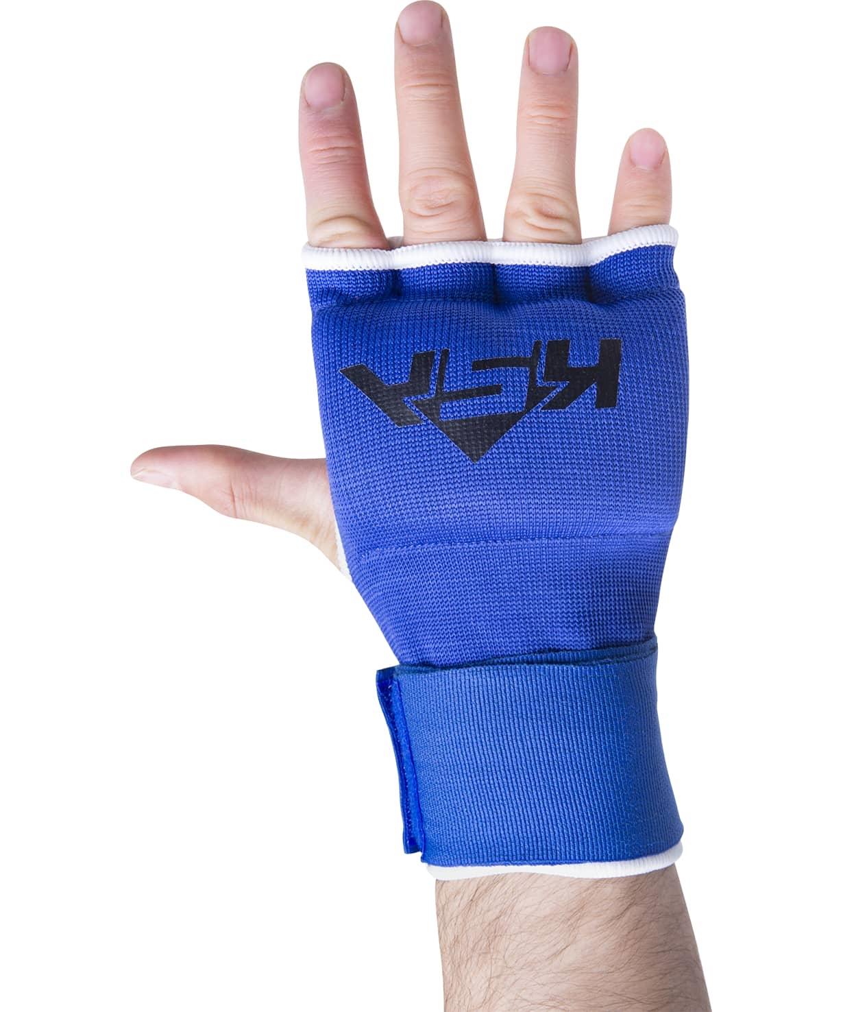 Внутренние перчатки для бокса Cobra Blue, S