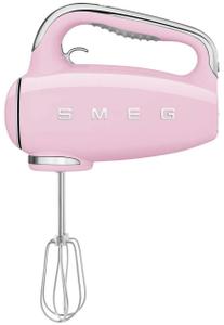 Миксер ручной SMEG HMF01PKEU розовый