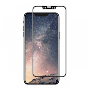 Ainy Защитное стекло (0,2мм) Apple iPhone X/XS Full Screen Cover (5D) черное