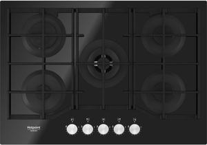 Газовая варочная панель Hotpoint-Ariston HAGS 72F/BK черный