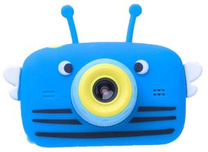 Детская цифровая камера в форме пчелки голубая