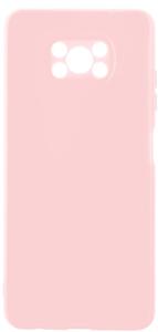 Чехол накладка Alwio для POCO X3 розовый