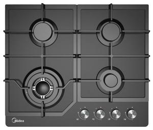 Газовая варочная панель Midea MG684TGB черный