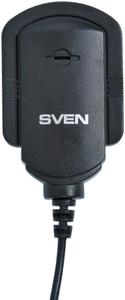 Микрофон SVEN MK-150 < Black > (1.8 м, клипса)