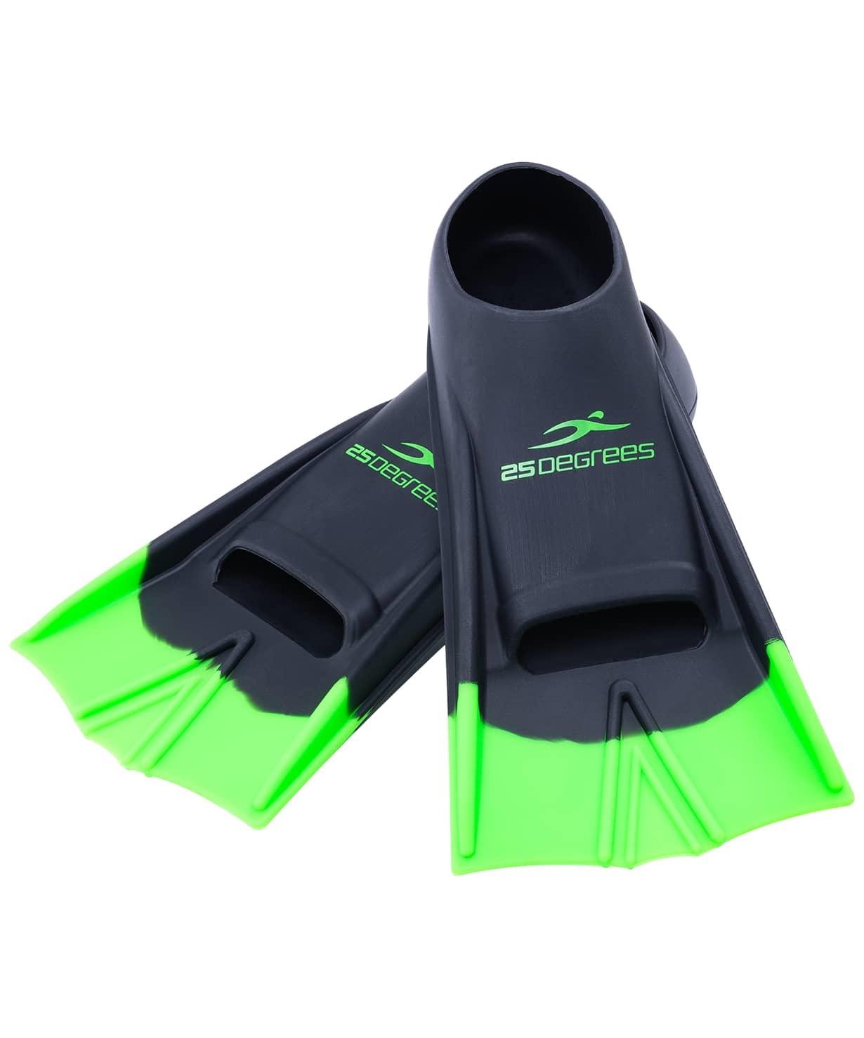 Ласты тренировочные Aquajet Black/Green, XS