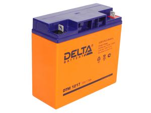 Аккумулятор для ИБП 12V 17Ah Delta DTM 1217