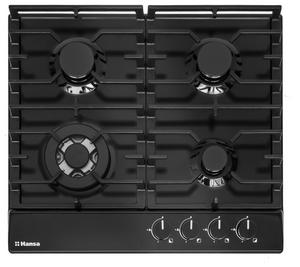 Газовая варочная панель Hansa BHGS611391 черный