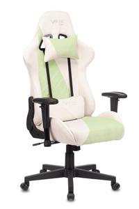 Кресло игровое Бюрократ Zombie VIKING X Fabric зеленый