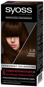 Крем-краска для волос Color 3/8 Темный шоколад Syoss