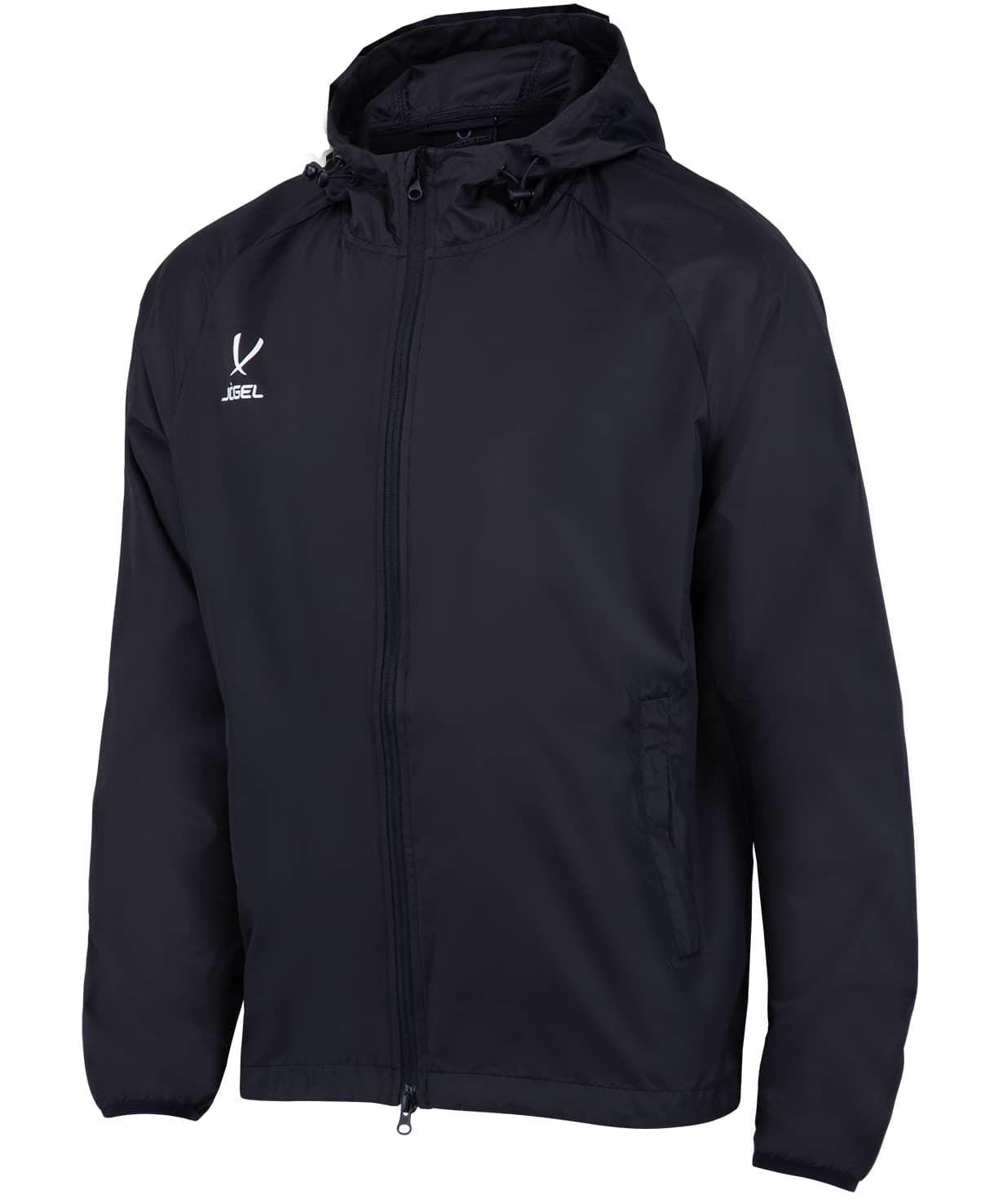 Куртка ветрозащитная детская CAMP Rain Jacket, черный