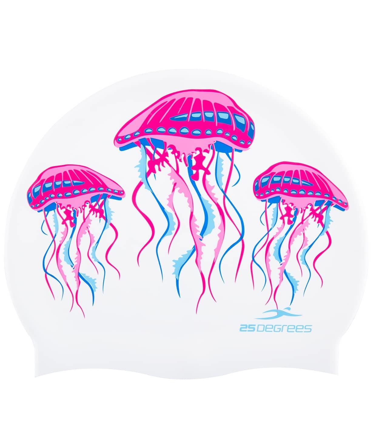 Шапочка для плавания Meduza, силикон, подростковая