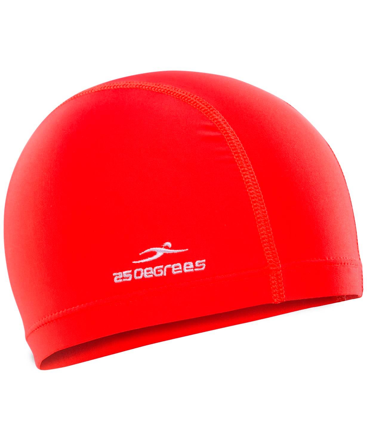 Шапочка для плавания Essence Red, полиамид, детский