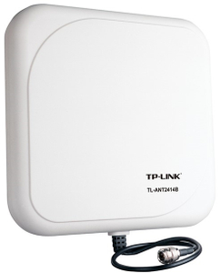 TP-LINK <TL-ANT2414B> направленная антенна 14dBi с грозозащитой
