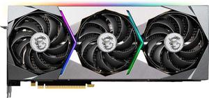 Видеокарта MSI GeForce RTX 3080Ti SUPRIM X 12 Гб