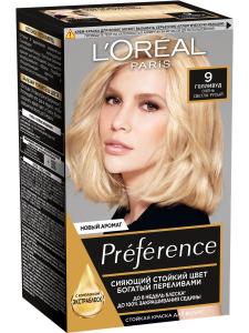 Краска для волос Preference 9 Голливуд L'Oreal Paris
