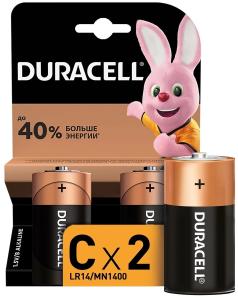 Батарейка Duracell Basic LR14-2BL MN1400 C (2 шт)