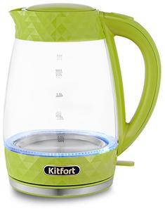 Чайник электрический Kitfort КТ-6123-2 салатовый