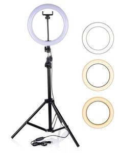 LED Лампа M-33, 33cm + штатив
