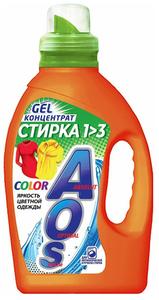 Гель для стирки Сolor 1,3кг AOS