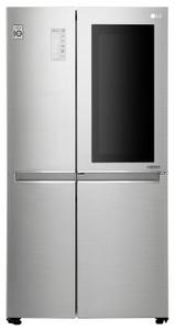 Холодильник LG GC-Q247CADC серебристый