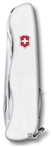 Нож перочинный Victorinox Picknicker (0.8353.7R) 111мм 11функций белый карт.коробка