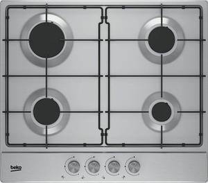 Газовая варочная панель Beko HIAG64223SX серебристый